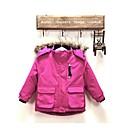 girls purple nylon ski jackets