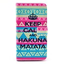 Tribal Carpet Hakuna Matata Pattern Case with Card Holder for LG G3