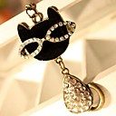 Love Is You Lovely Glasses Cat Set Auger Necklace Restoring Ancient Ways Fashion Sweater Chain