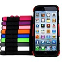 PC and TPU Combo Shell Hard Cover with Stand for iPhone 6(Assorted Colors)
