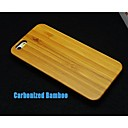 Carbonized Bamboo Hard Back Cover for iPhone 6