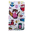 Owls Pattern PU Leather Full Body Case for LG G2