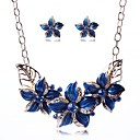 Fashion Europe Fashion Flower Alloy Jewelry Set(Including Necklaces Earrings)