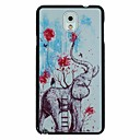 Elephant Balloon Pattern PC Hard Back Cover Case for Samsung Galaxy Note 3