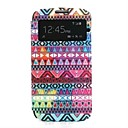 Oil Painting Pattern PU Leather Cover with Card Slot Cover for Samsung Galaxy S4 I9500