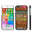 Stylish Patterned Hard Plastic Snap On Case for iPhone 6