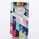 Diamond Pattern Full Body PU Leather Case Cover with Stand  for LG G3