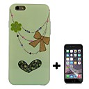 Bead Chain Pattern Soft TPU with Screen Protector Case Cover for iPhone 6