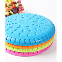 Pets Toy Dog Jawz Rubber Flying Saucer Assorted Color