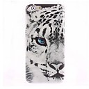Half Face Snow Leopard Pattern Case for iPhone 6