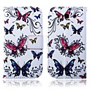 Colorful Butterflies Pattern PU Leather Full Body Case with Stand for Samsung S3 I9300