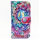 Fashion Design Pattern Full Body Case with Stand for iPhone 5/5S