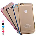 Translucence Design Vacuum Plating PC Back Cover for iPhone 6(Assorted Colors)