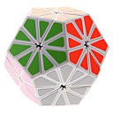 QIJI Daisy Shape Sticker Magic Cube(White)