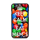 Elonbo Keep Calm and Eat M Sugar Plastic Hard Back Cover for iPhone 6