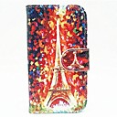 Tower Pattern Full Body Case with Stand for iPhone 4/4S