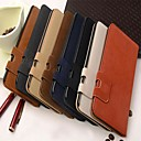 Wallet Style Squirrel Pattern PU Leather Full Body Case with Stand and Card Slot for iPhone 6 Plus (Assorted Color)