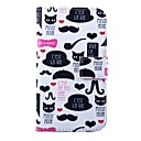 Beard Pipe Pattern PU Leather Full Body Case for for Samsung S5 I9600