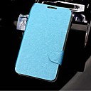 Silk Pattern PU Leather Full Body Case with Simple And Elegant for Samsung Galaxy S4 I9500(Assorted Colors)
