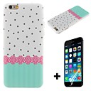 Little Ribbon Pattern Hard with Screen Protector Cover for iPhone 6