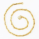 Europe Simulation Gold Chain Necklace