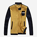 Mens Stand Collar Casual Baseball Jackets(More Colors)