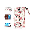 Roses Pattern Full Body Case for Samsung Galaxy S4 I9500