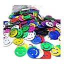 500 PCS Smile Multicolor Confetti for Party Decoration(20g/Bag)