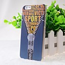 Good Quality Zipper Pattern Back Case for iPhone 6