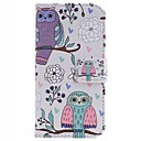 The Owl Design PU Leather Full Body Protective Case with Stand for Samsung Galaxy S4 Mini I9190