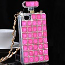 Fully Jewelled Diamond Perfume Bottle Back Cover Case for iPhone 6(Assorted Colors)