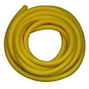KYLIN SPORT™ Dia?10mmL3m Yellow Catapult Tubing Rubber Band Resistant Elastic Fitness Power Band
