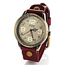 Womens Fashion Vintage Leather Quartz Wrist Watch(Assorted Colors)