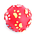 Cat Sound Claw Imprint Plastic Red Toy