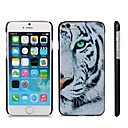 White Tiger Pattern Hard Plastic Back Cover for iPhone 6