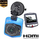 Full HD Car DVR, Mini 2.4 Inch LCD 19201080P 4x Zoom Car Camera, WDR, DVR Recorder with HDMI Cable