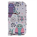 The Owl Design PU Leather Full Body Protective Case with Stand for Samsung Galaxy S3 Mini I8190