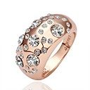 Fashion Electric Dispatching Rose Gold Costly Diamond Ring
