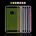 Angibabe Straight Line Transparent TPU Soft Back Cover for iPhone 6 Case 4.7 inch