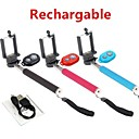Extendable Selfie Handheld Stick Monopod and Rechargeable Bluetooth Remote Control for Samsung Phones(Assorted Color)