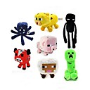 Minecraft Baby Squid Creeper Enderman Mooshroom Plush Toys(7pcs/lot)