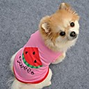 Lovely Sweet Watermelon Pink Vest for Pet Dogs (Assorted Sizes)