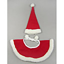 Christmas Amice with Hat for Pet Dogs (Assorted Sizes)