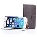 Zebra-Stripe Pattern PU Leather for iPhone 6 Plus(Assorted Colors)