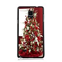 Elonbo Warm Christmas Tree Plastic Hard Back Case Cover for Samsung Galaxy Note 4