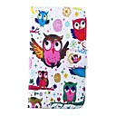 Owls Pattern PU Leather Full Body Case for for Samsung S5 I9600