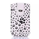 Cats Footprint PU Leather Full Body Cover Case for iPhone 6 Plus