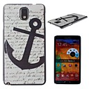 Anchor Pattern PC Hard Case for Samsung Galaxy Note 3