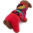 Fashion Hot Deer Set Four Leg Coat for Pet Dogs(Assorted Size)