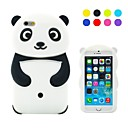 Lovely Panda Pattern Silicone Case for iPhone 6